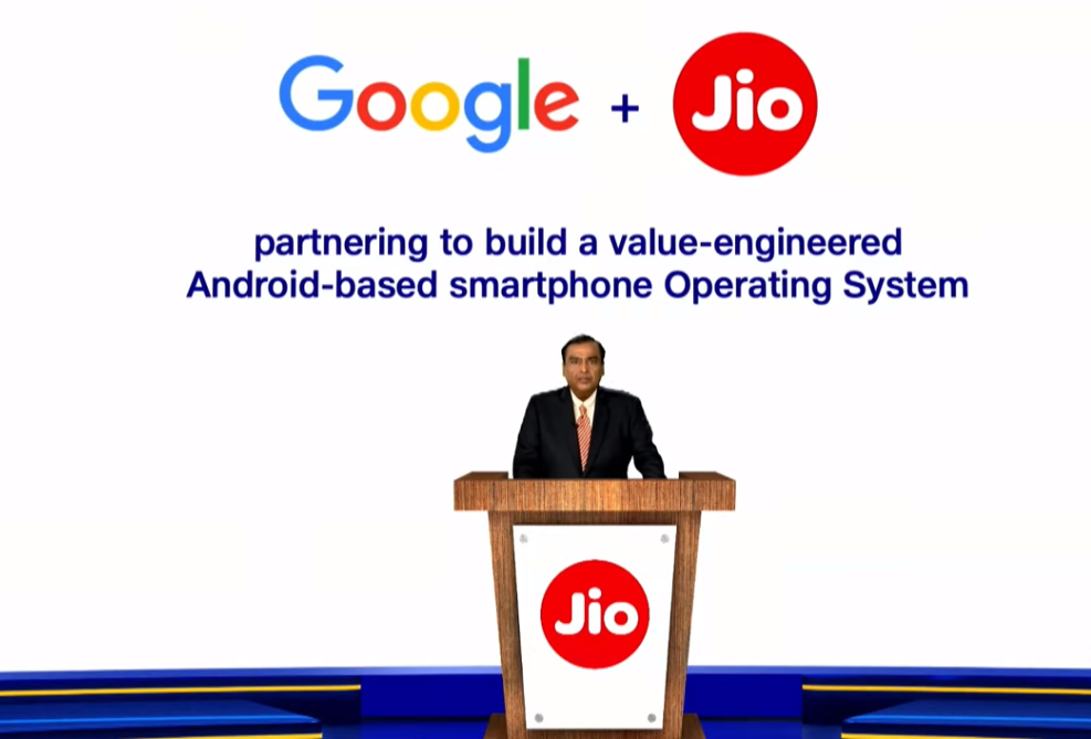 google invests in jio